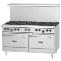 "Garland G60-10CC Natural Gas 10 Burner 60"" Range with 2 Convection Ovens"