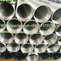ASTM A312 Stainless Steel Wire Wrapped Well Screens