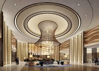 modern stainless steel decorative ceiling for hotel and house