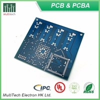 2 layer PCB Fabrication Double Side Circuit Board Manufacture Etching Service