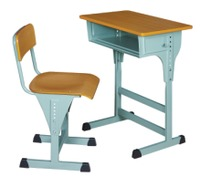 Height Adjustable Student Furniture Desk and Chair