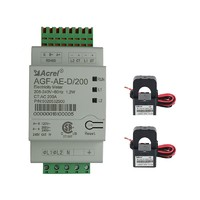 Acrel 300286.SZ U L ANSI approved A  single phase three wire AGF-AE-D/200 solar power meter with RS485 Sunspec