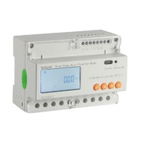 DTSD1352 din rail mounted three phase energy power monitoring meter for solar power system with CE approval