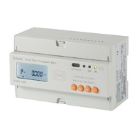 Acrel 300286.SZ LCD 3*10(80)A digital RS485 prepaid electrical meter ADL300-EYRF