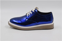 New style durable genuine leather dress men/women casual shoes