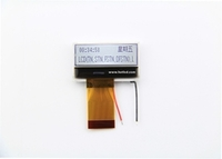 128*32 Dots  Graphic  LCD  Module  Outline dimensions: 34.5*17.9mm