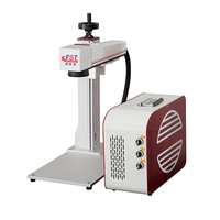 FST Split Red-white Portable Fiber Marking Machine