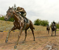 more images of Beautiful casting bronze garden horse statue