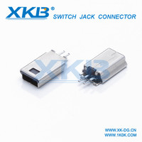 High quality mini din male connector