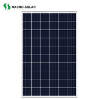 hot sale 270w polycrystalline pv solar panel solar cell