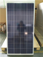 150w poly solar panel module for home use
