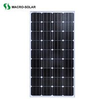 160w mono solar panel product for home use