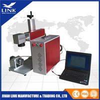 Easy Operation advanced pen animal ear tag  dot peen  fiber laser marking machine