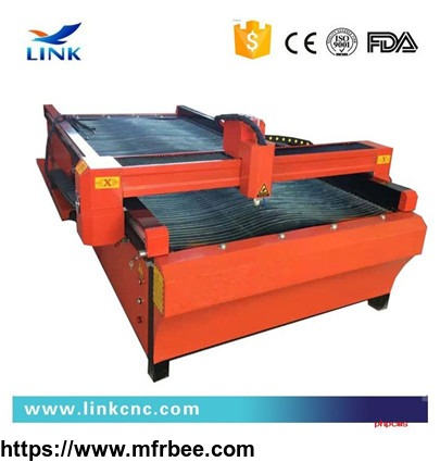 China economic Lower noises cnc metal plasma cutting machine manufacturer