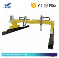 gantry thick metal material cnc plasma cutting machine