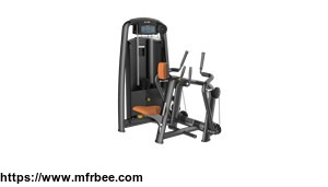 Exercise Equipment 3mm Thickness Italian Style Body Building Machine Seated Row