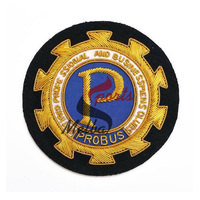 Bullion Embroidered Blazer Badge
