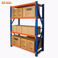 heavy duty warehouse storage boltless steel shelf