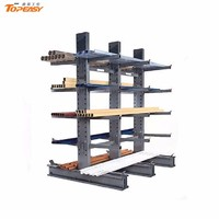 heavy duty pipe cantilever storage racking
