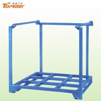 warehouse foldable metal stackable storage racks