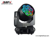 Led Moving Head Stage Lighting Wash Lights 7*40W RGBW with Neon Effect
