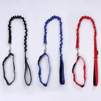 Dog Safety Elasticity Leash Rope and Collar set ,Dog Walking Leash Rope and Neck Collar set