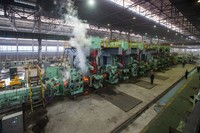 hot rebar rolling mill production line