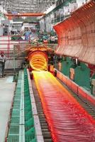 hot wire rod rolling mill production line