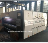 QH Automatic Lead Feeder Flexo Printing Die Cutter Machinery