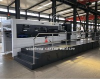 QH 1650 Automatic Die-Cutting and Creasing Machine with Stripping