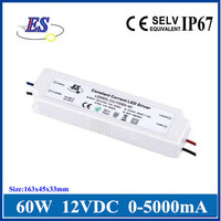 60W AC-DC Constant Voltage LED Driver Switching Power Supply