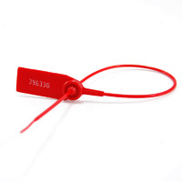 370mm Plastic Security Seals Container Number Tag Shipping Cargo Locking