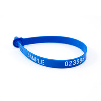 more images of Fixed Length Tamper Proof Number Security Tag Plastic Cargo Seal(ZC-250)