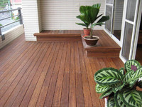 Outdoor Bamboo Flooring used in outside decoration Bamboo floor