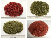 Chinese dried/ dehydrated /minced/diced red/green bell pepper