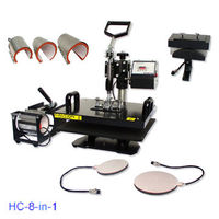 Combo heat press, 4 in 1 Combo heat press