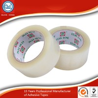 more images of China Supplier Factory Price Clear Bopp Packing Carton Sealing Adhesive Tape