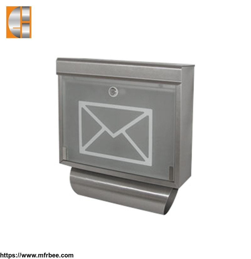 newspaper_metal_lock_wall_mail_box