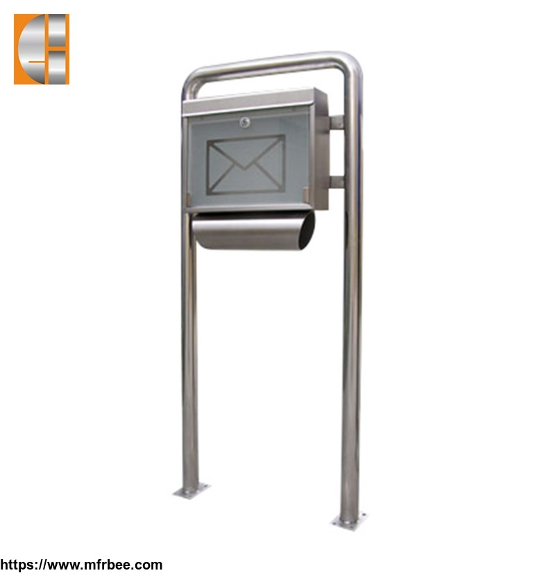 Customize outdoor Stainless  Steel Mailbox