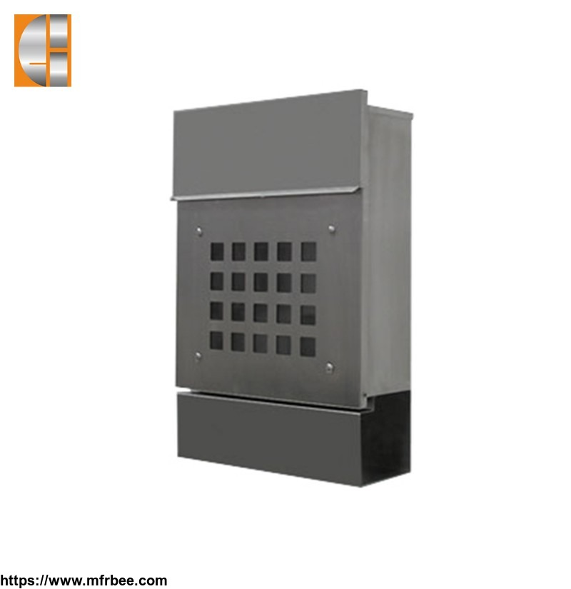 custom_residential_decorative_locking_stainless_steel_metal_mailboxes