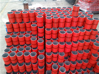 API tubing/pipe coupling for connecting two joints of casing or tubing