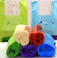 China custom factory price Biodegradable custom printed plastic garbage bags on roll manufacture