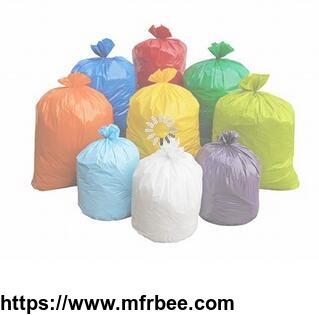 China factory price hot sale HDPE plastic type garbage bag manufacture