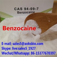 Supplier Benzocaine HCl benzocaine factory Benzocaine powder price Benzocaine manufacturer cas 94-09-7