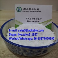 Sell 99.9% Benzocaine CAS 94-09-7 Manufacturer Supplier