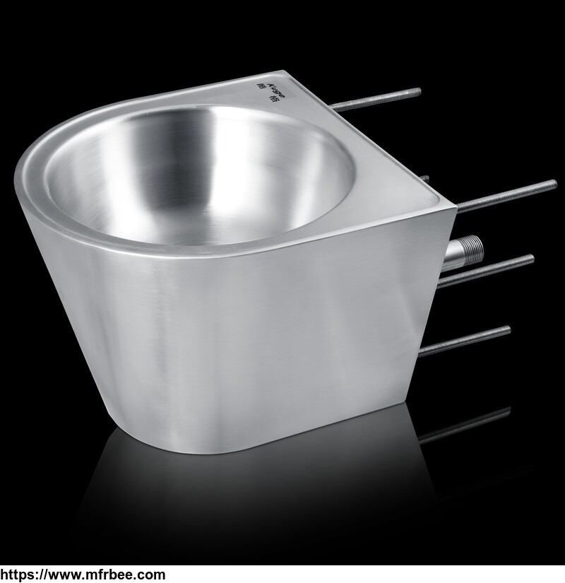 Stainless Steel Vandal-proof Prison Wash Basin
