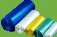 HDPE Colored Star Sealed Bags on Roll
