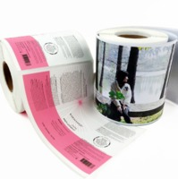 Matt Glossy A4 Photo Paper Printable self adhesive inkjet paper roll