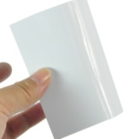Jumbo roll self adhesive label material film inkjet pp photo paper