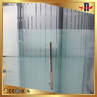 8mm 10mm 12mm ISO/CCC certified sliding tempered glass door